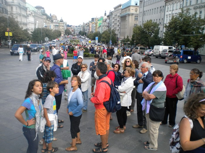 Praga, Piazza San Venceslao