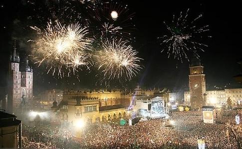 Capodanno 2014 a Cracovia